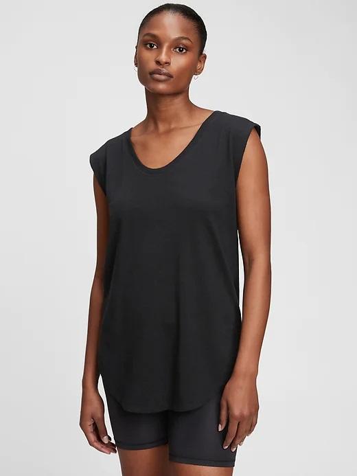 GAP Koszulki, topy damskie czarny