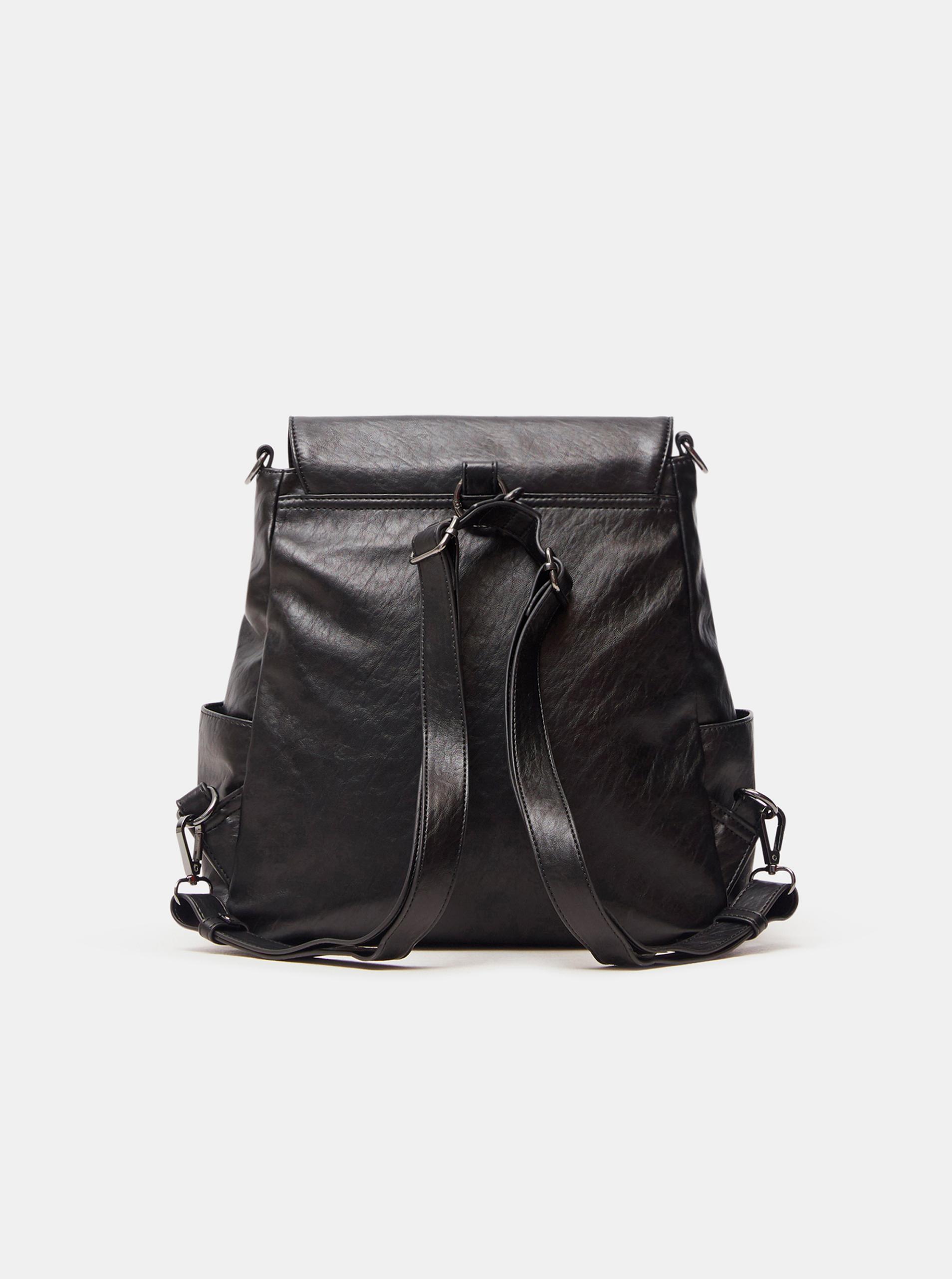Desigual czarny plecak Niagara Positano