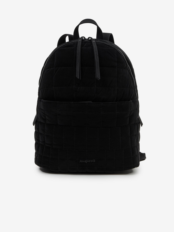 Desigual czarny plecak Cocoa Mombasa 2zippers