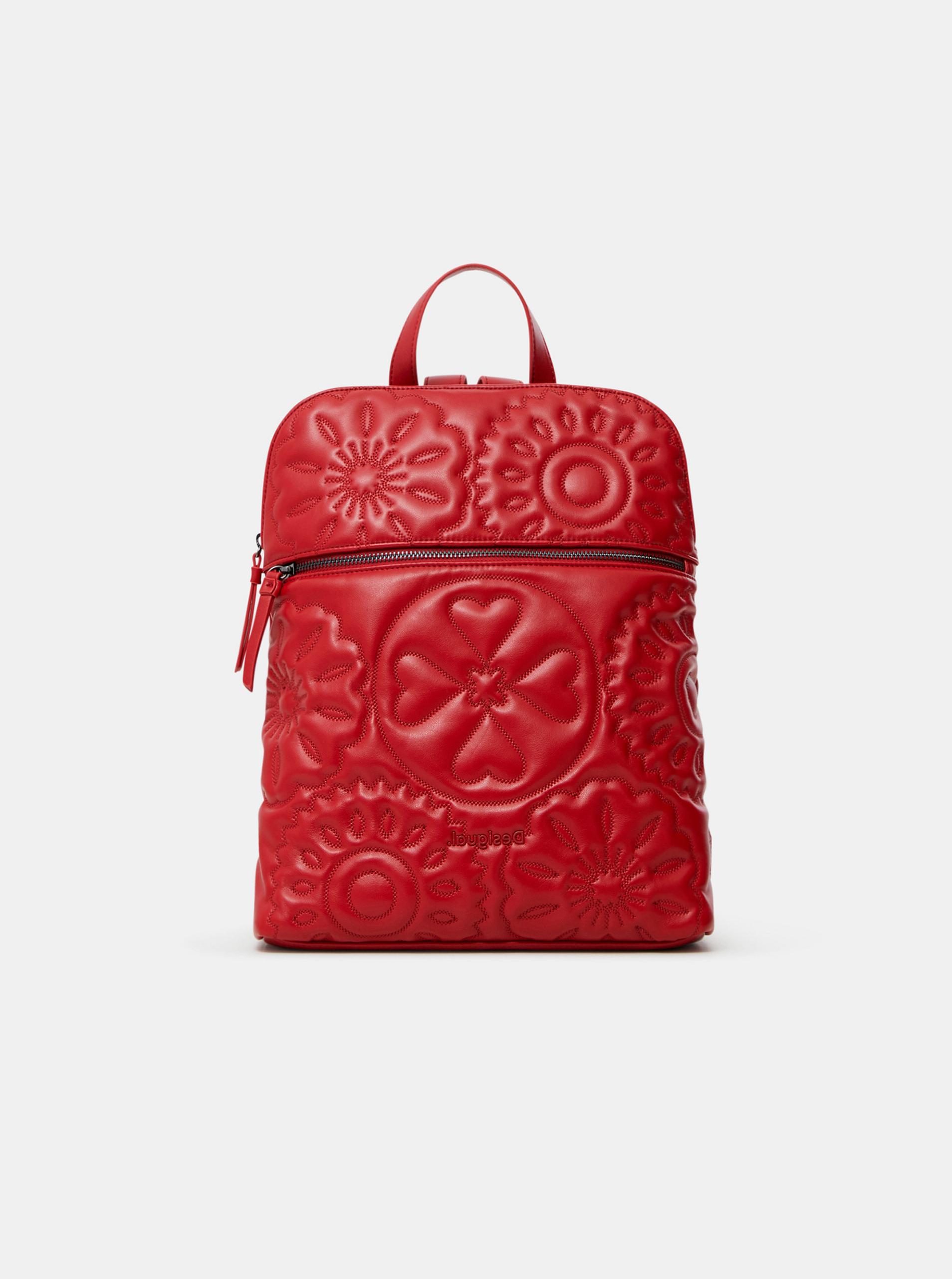 Desigual czerwony plecak Bibi Big Nanaimo