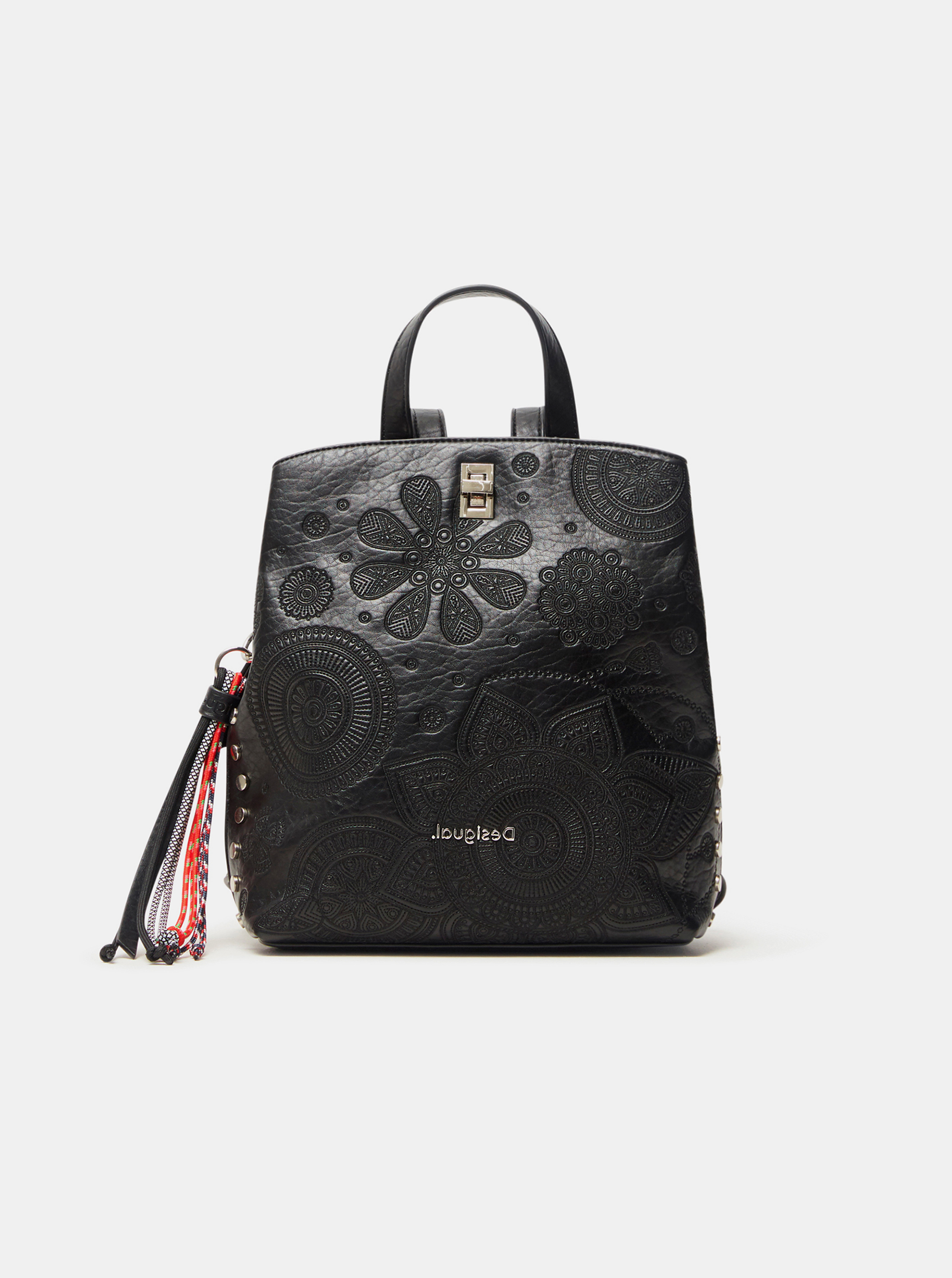 Desigual czarny plecak Deha Vu Sumy Mini