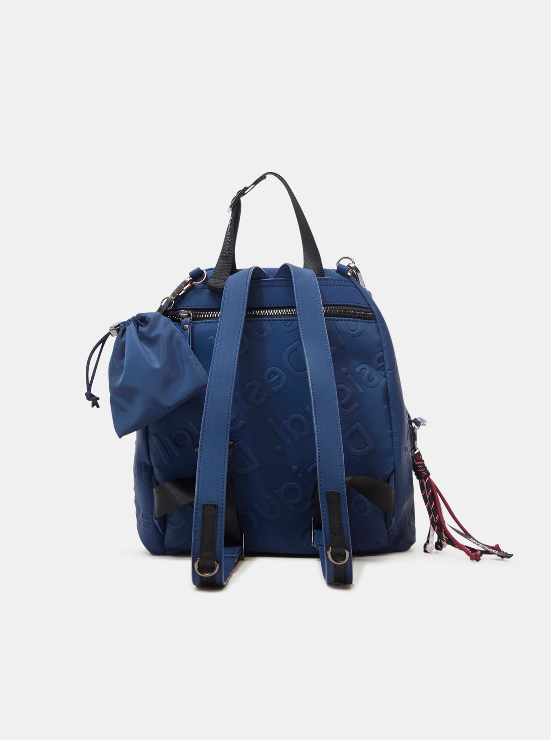 Desigual niebieski plecak Galia Viana Mini