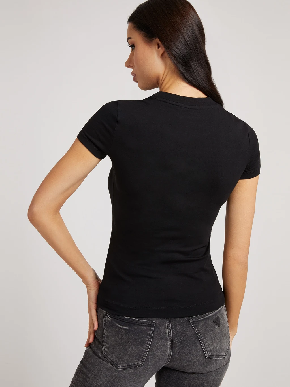 Guess Koszulka damska czarny