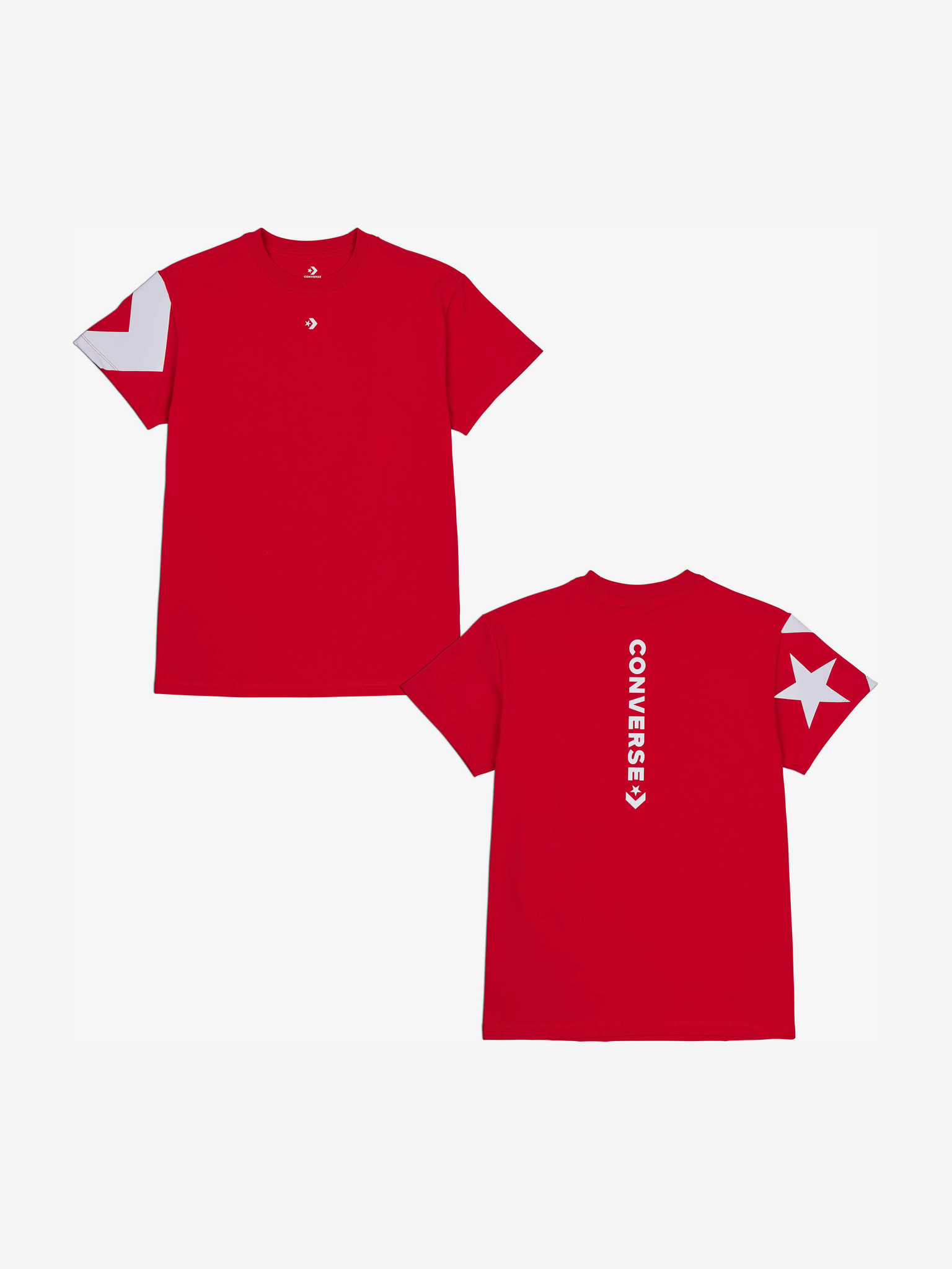 Converse Koszulka damska czerwony  Star
