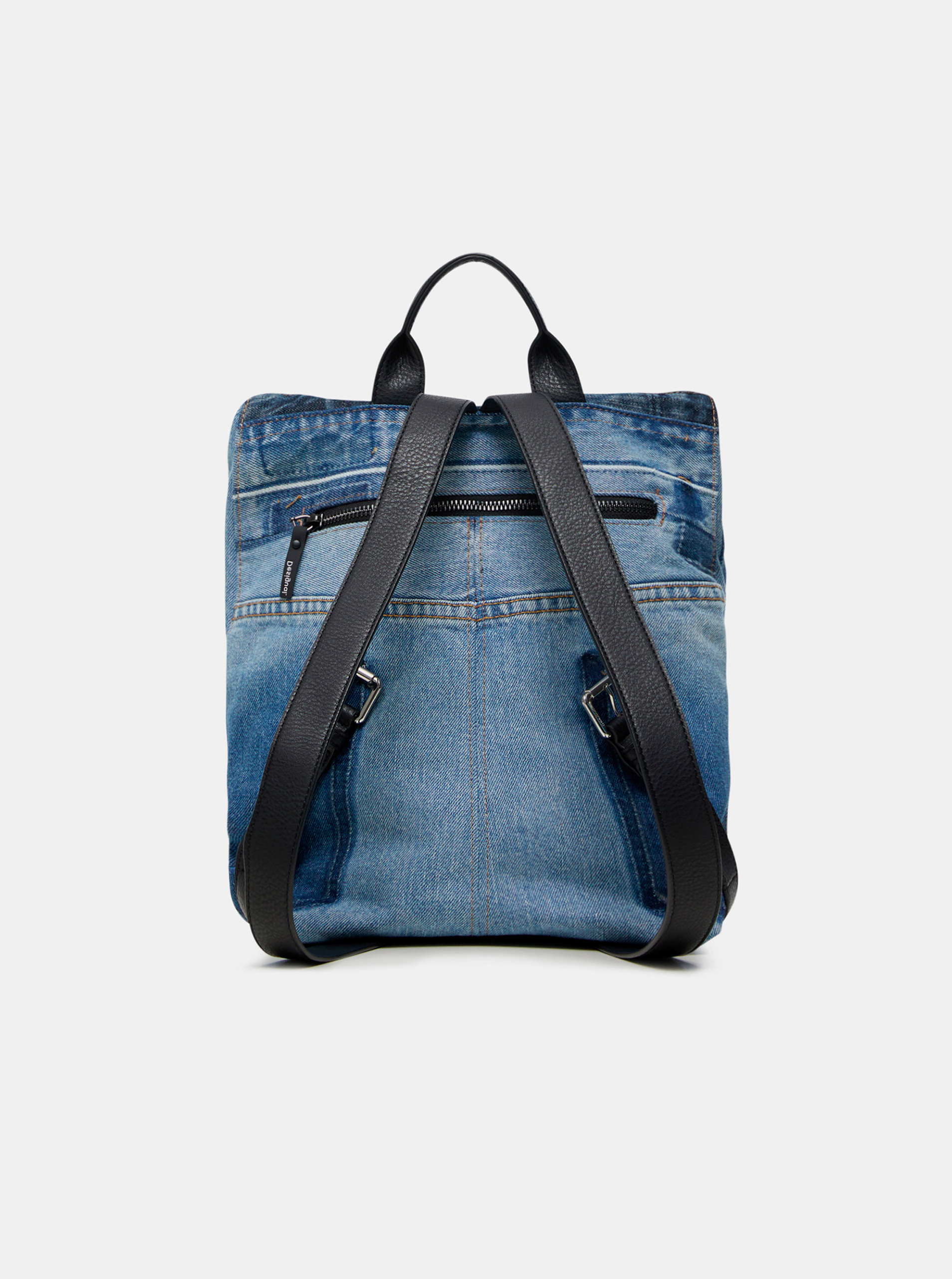 Desigual Plecak damski niebieski  Denim