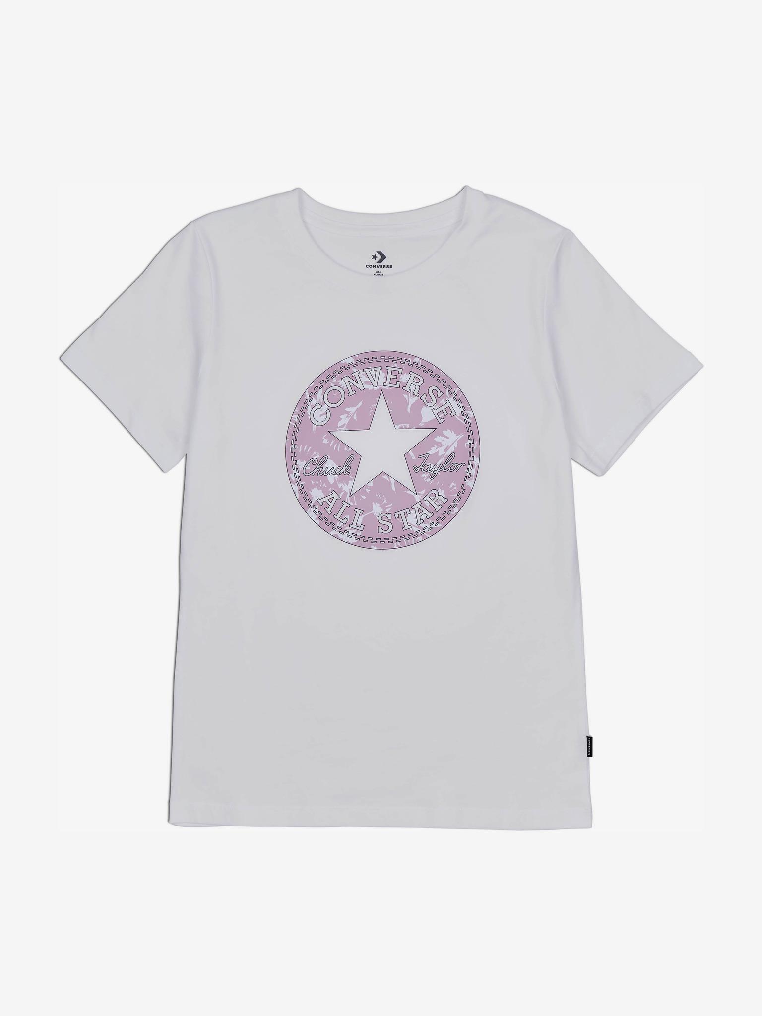 Converse Koszulka damska biały  Floral