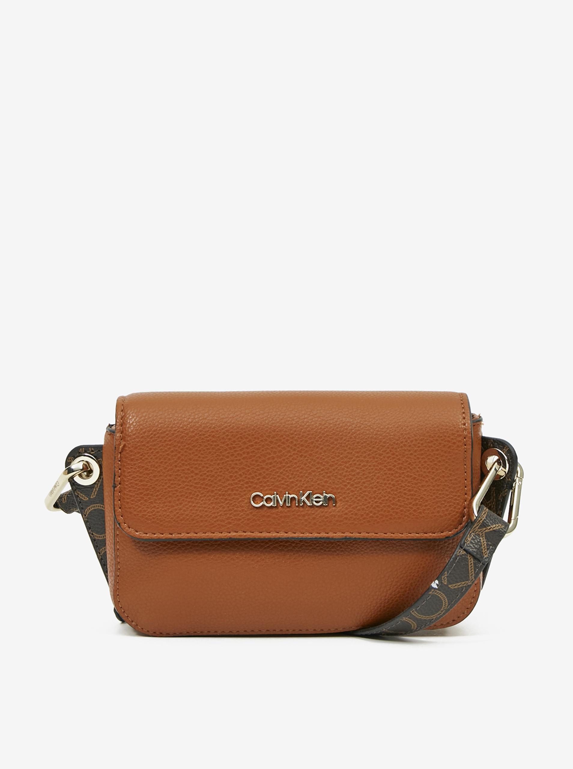 Calvin Klein brązowy crossbody torebka