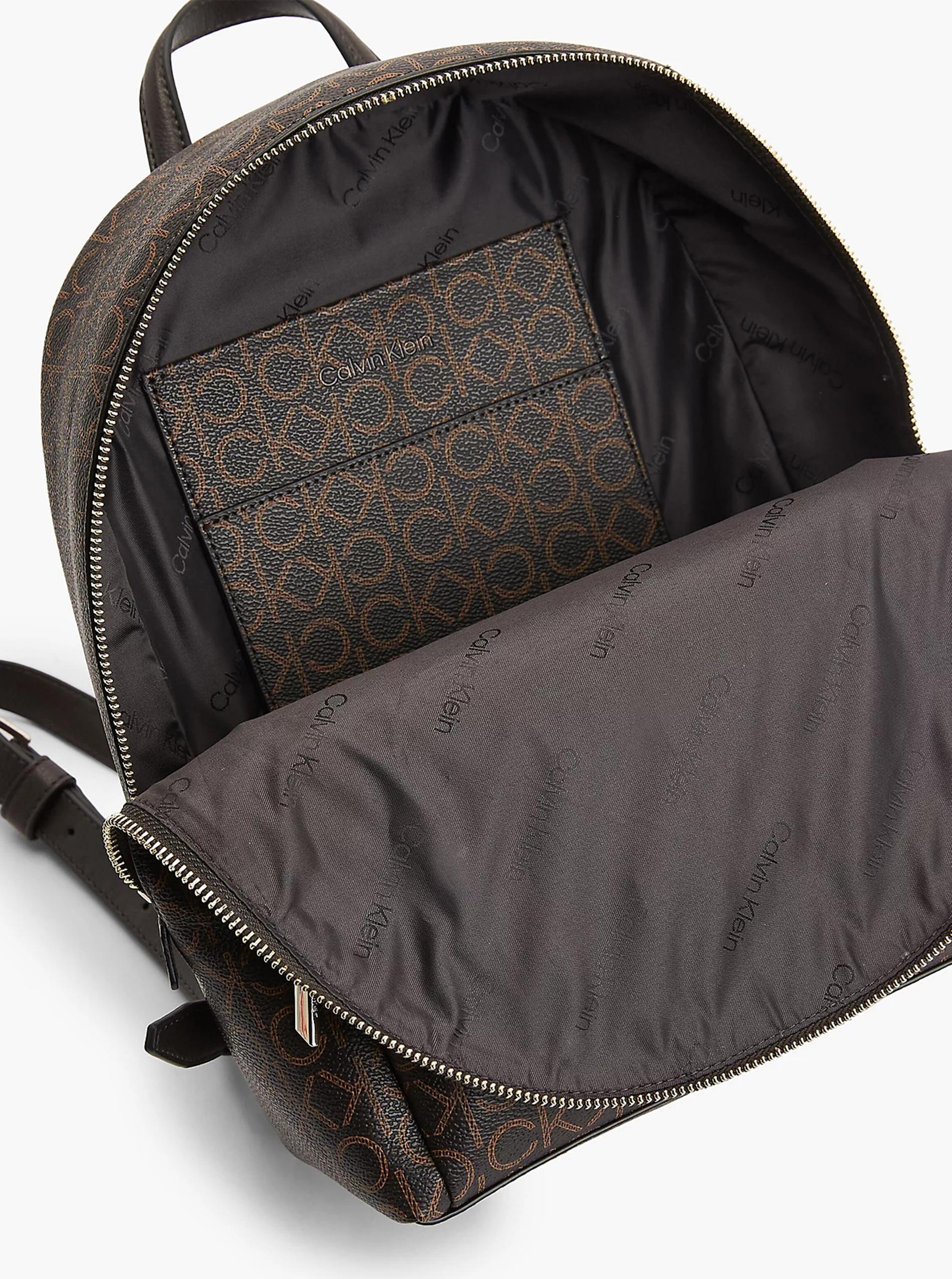 Calvin Klein brązowy plecak