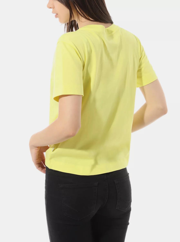 Żółty t-shirt damski VANS