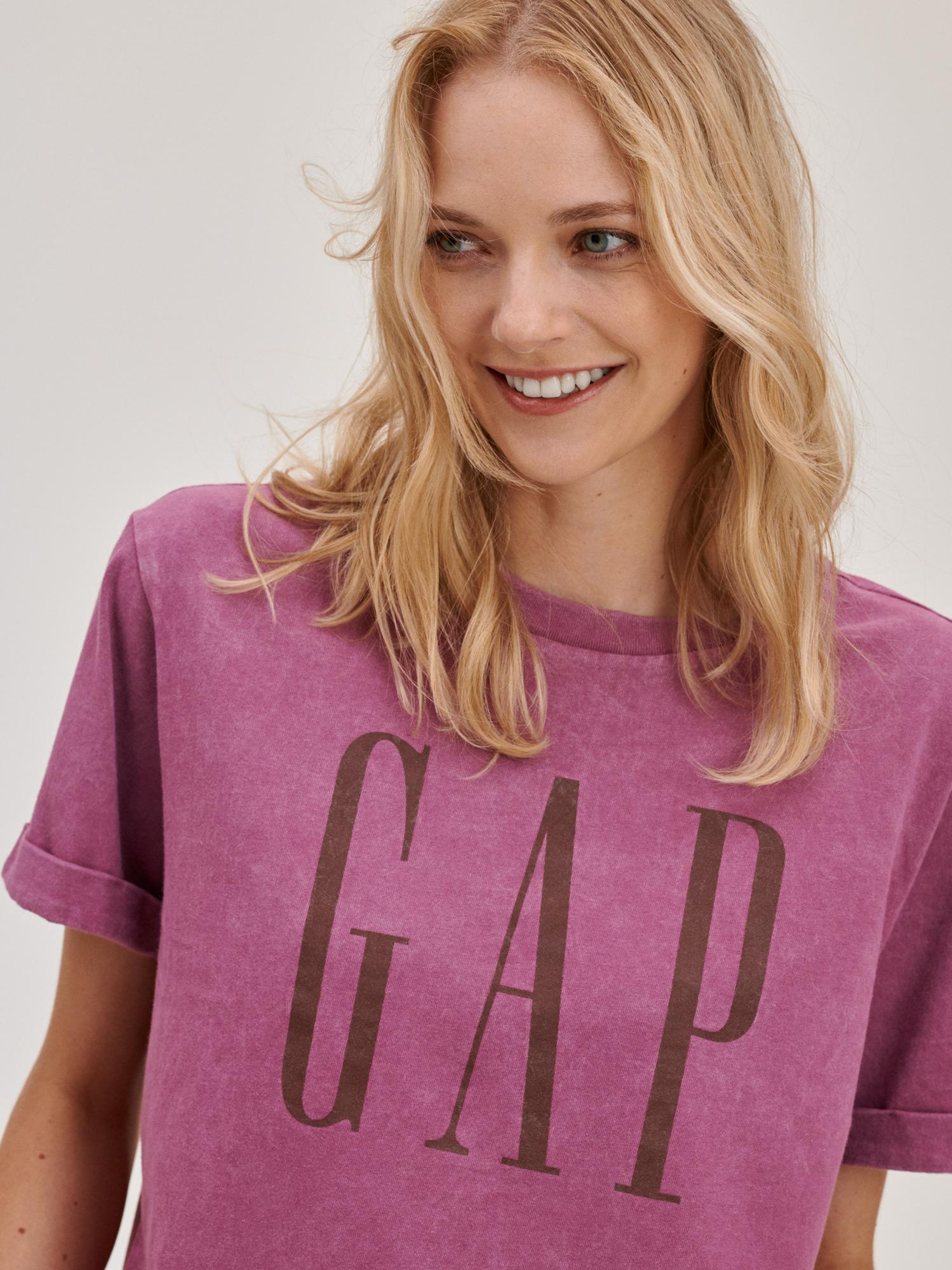 GAP Koszulki, topy damskie różowy