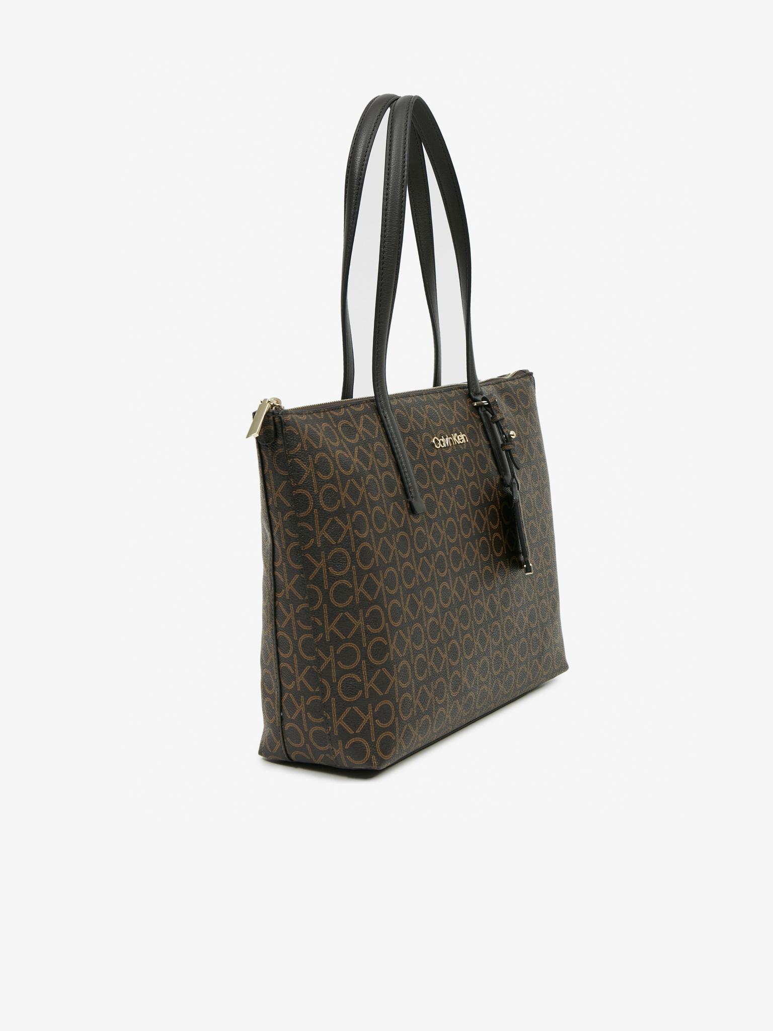 Calvin Klein brązowy torebka Must Shopper Medium
