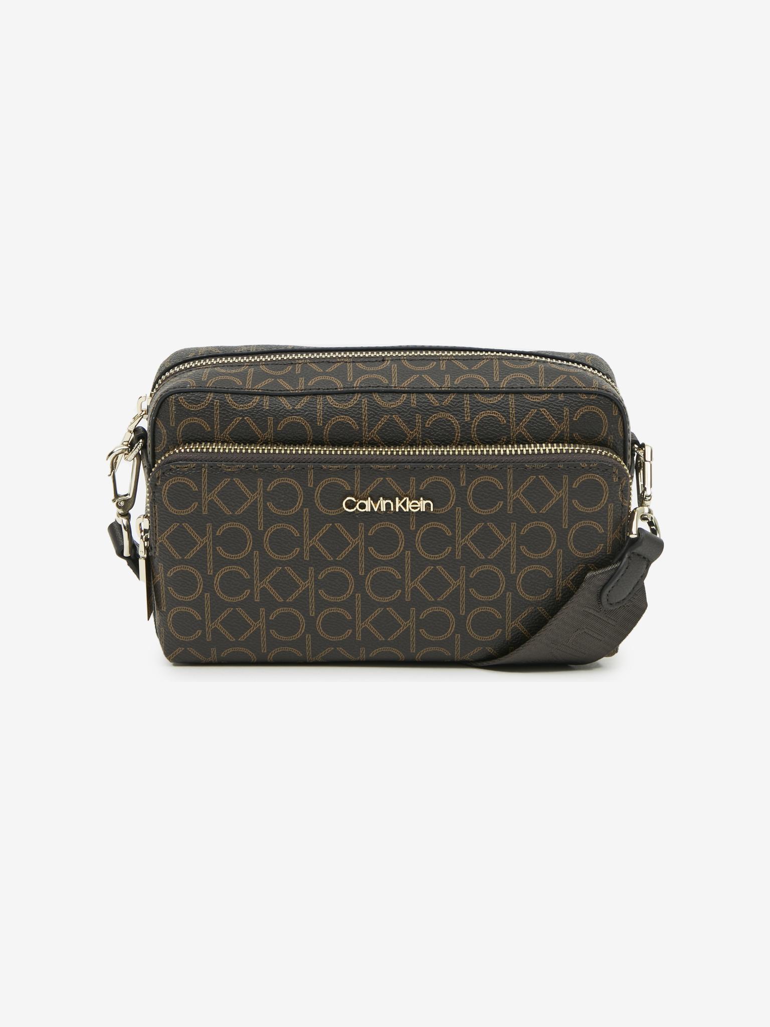 Calvin Klein brązowy crossbody torebka Must Camera
