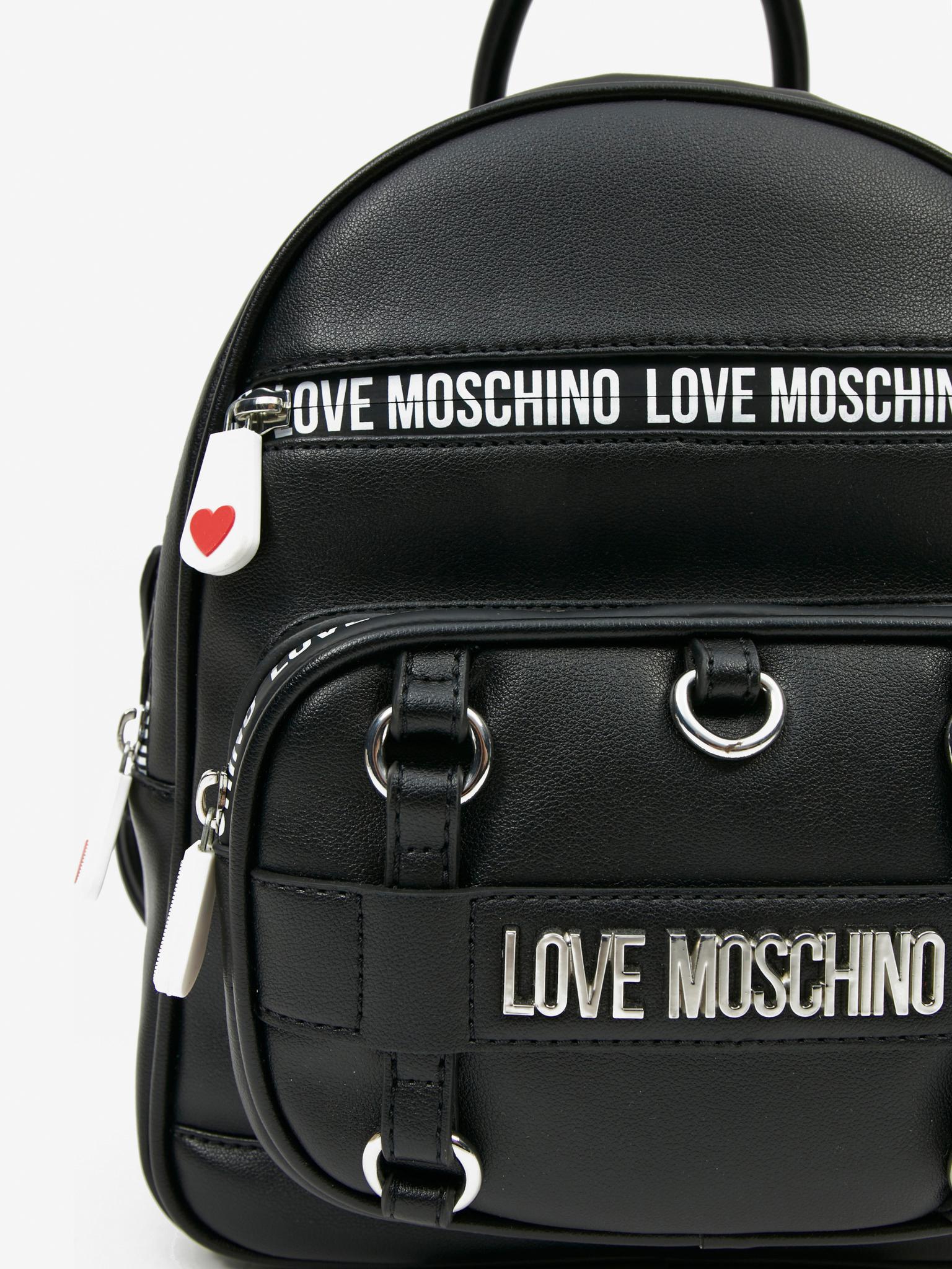 Love Moschino Plecak damski czarny