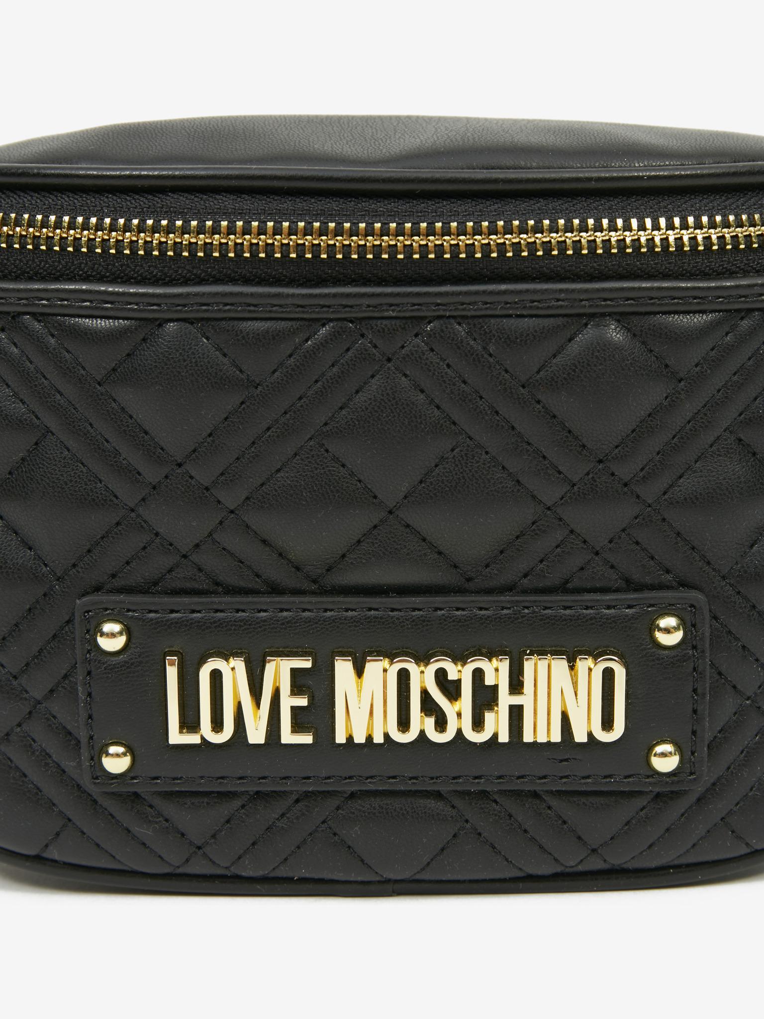 Love Moschino Damska torebka biodrowa czarny
