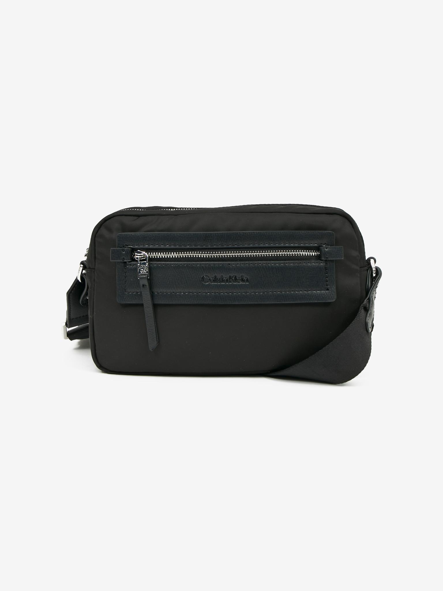 Calvin Klein czarny crossbody torebka Essential