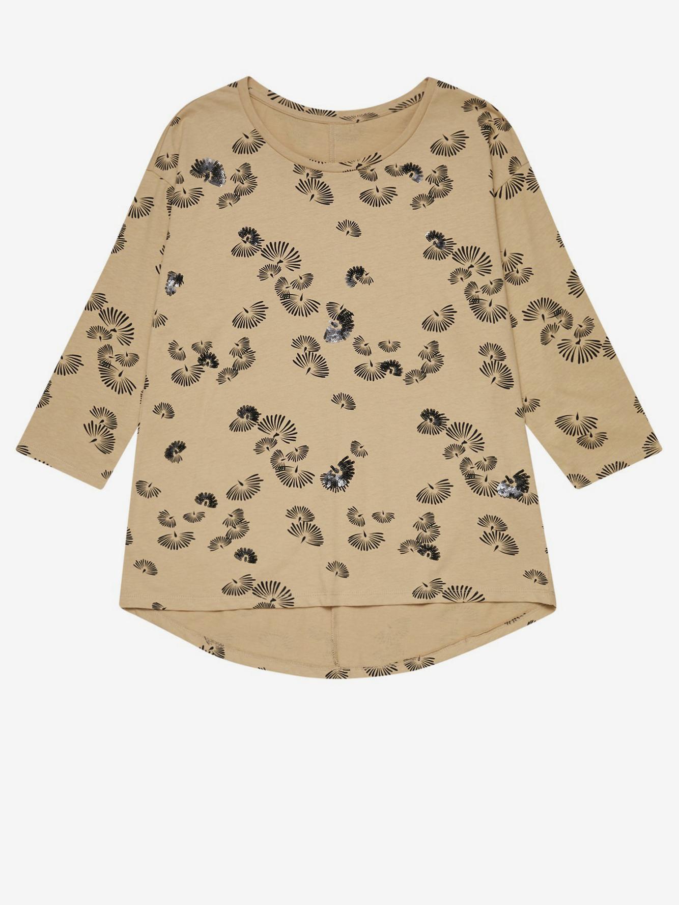 Moodo Koszulka damska beżowy