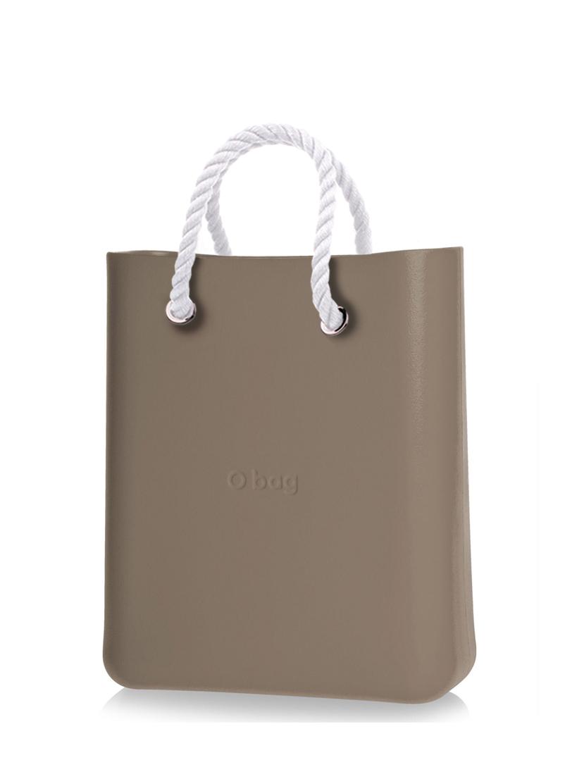 O bag  O Chic torebka Rock z krótkimi białymi linami