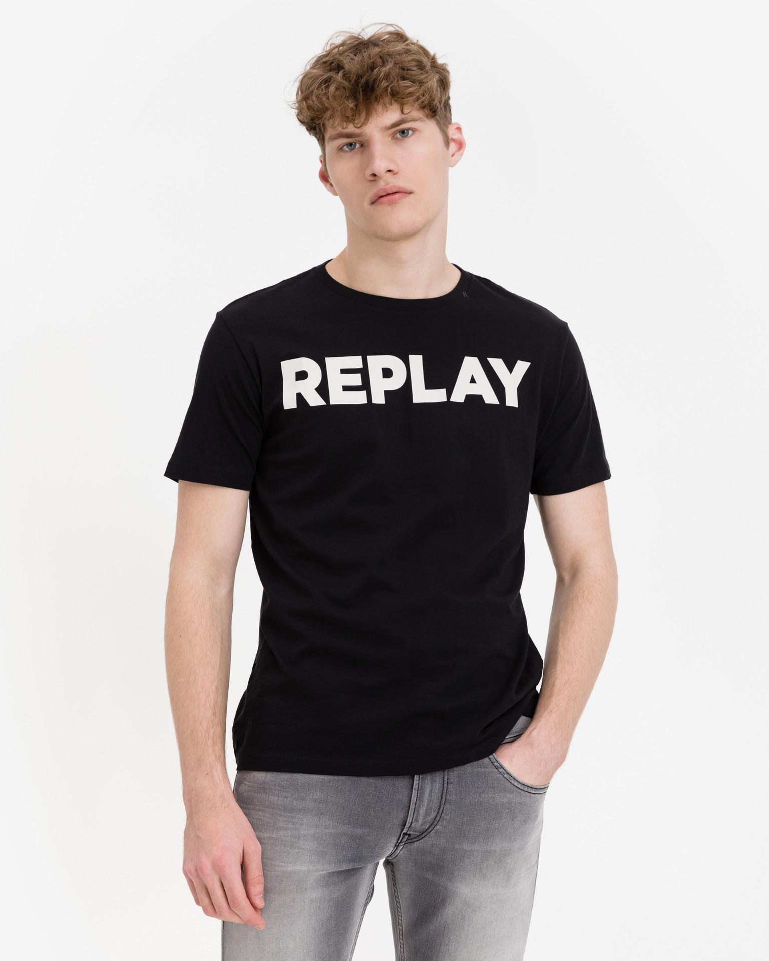 Replay Koszulka damska czarny