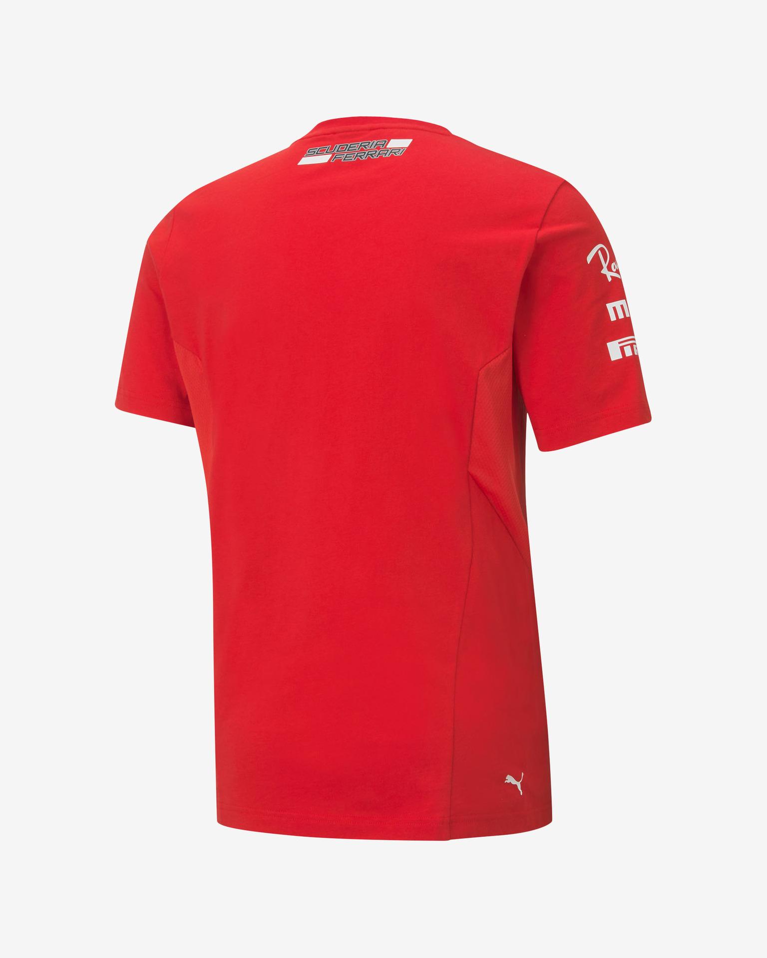 Puma Koszulka damska czerwony  SF
