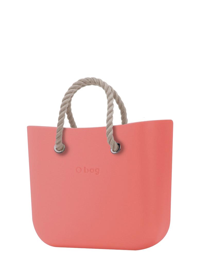 O bag  torebka MINI Corallo z krótkimi linami natural