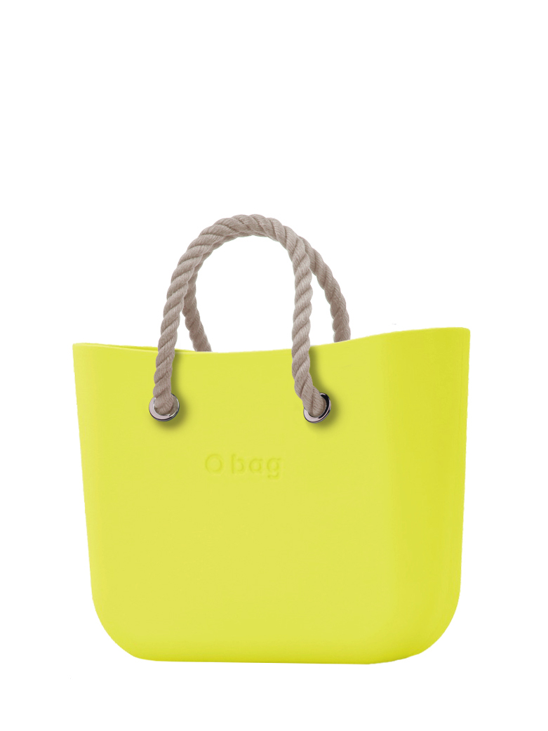 O bag  torebka Lime z krótkimi linami natural