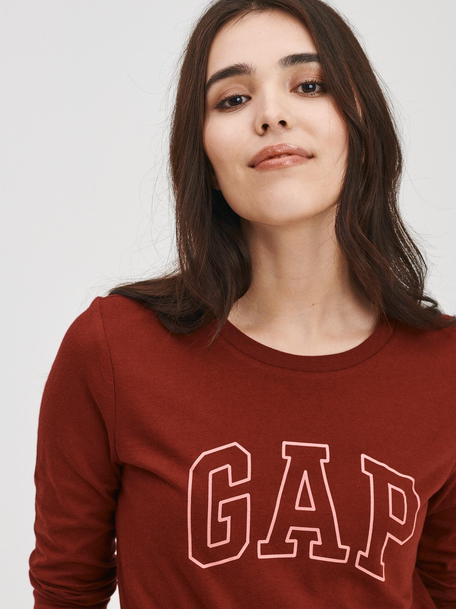 GAP Koszulki, topy damskie czerwony