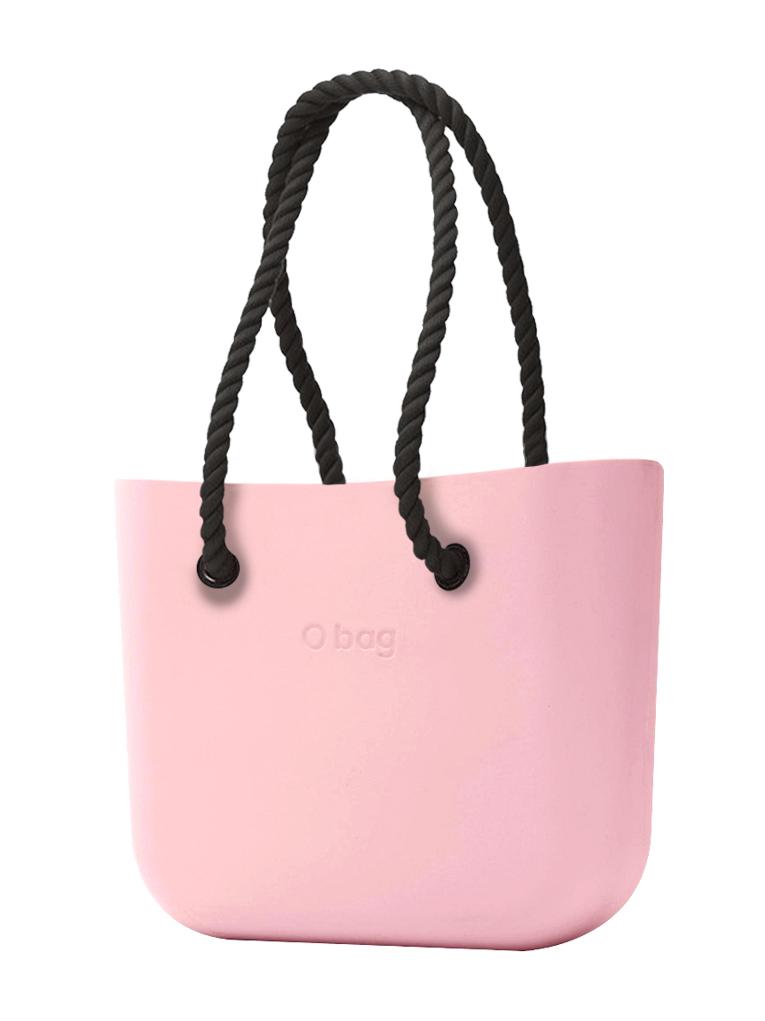 O bag  torebka Cipria z długimi czarnymi linami