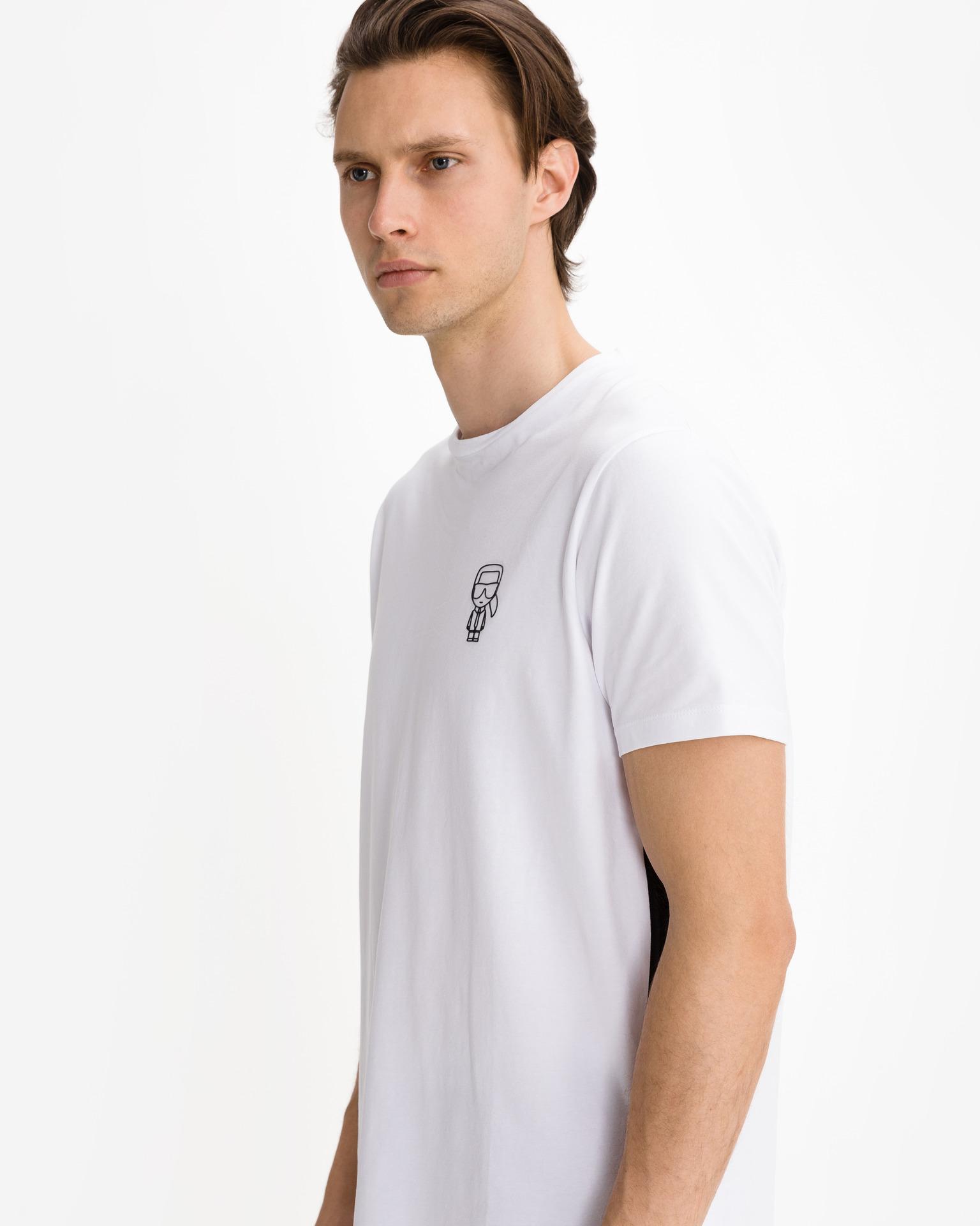 KARL LAGERFELD Koszulka damska biały