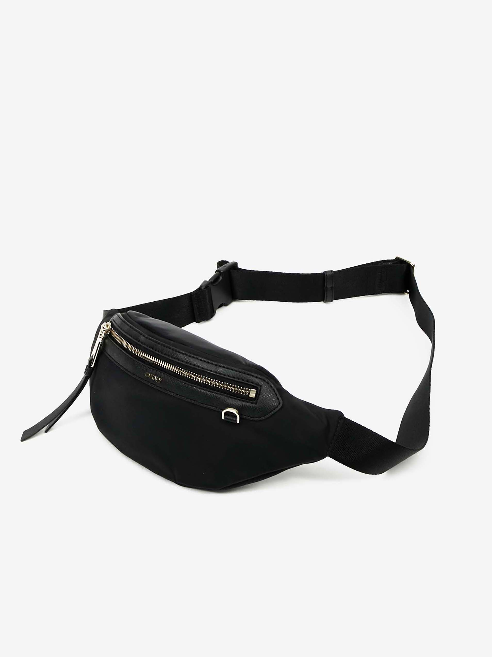 DKNY Damska torebka biodrowa czarny  BAG
