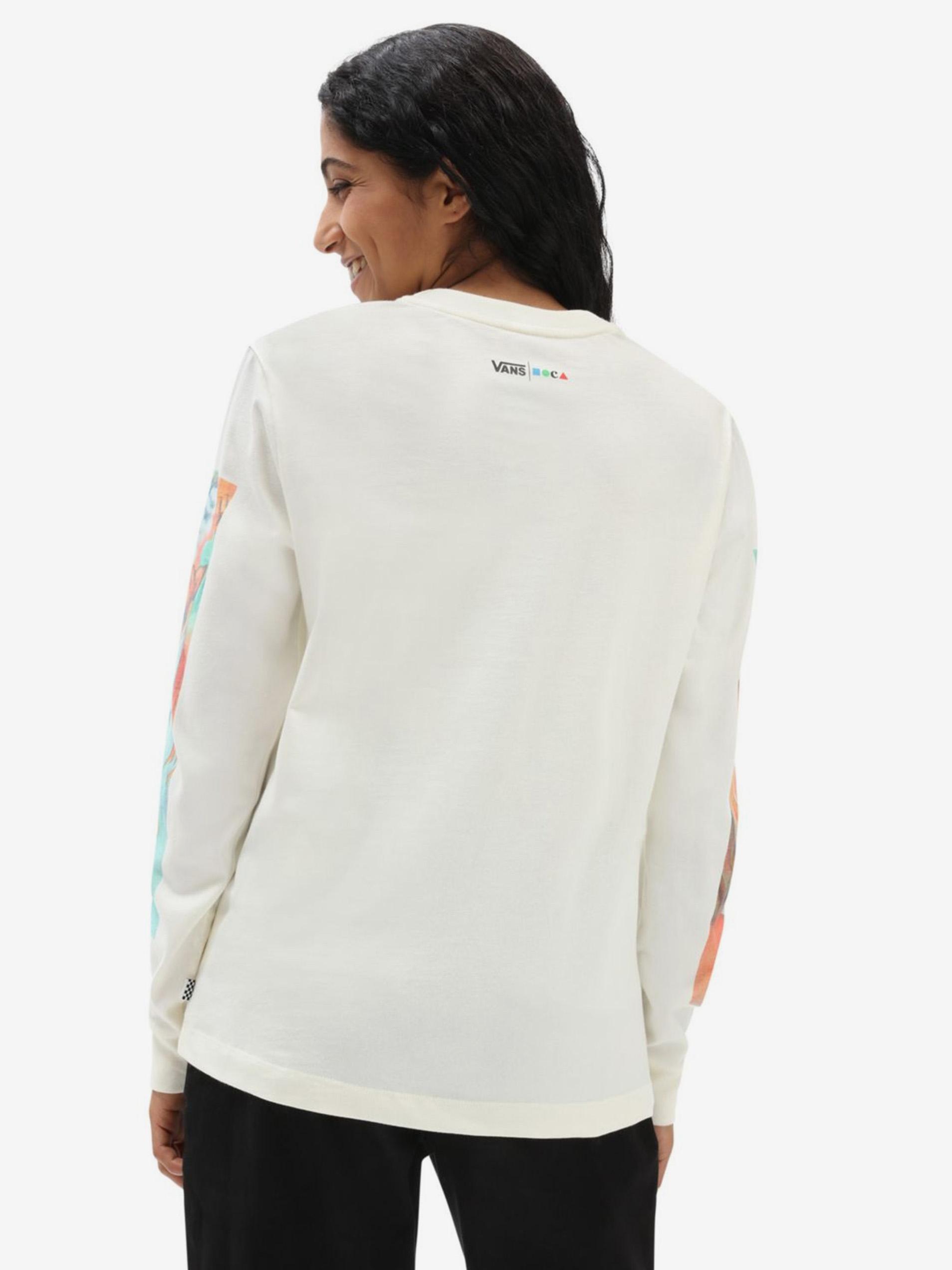 VANS Koszulka damska biały  Moca