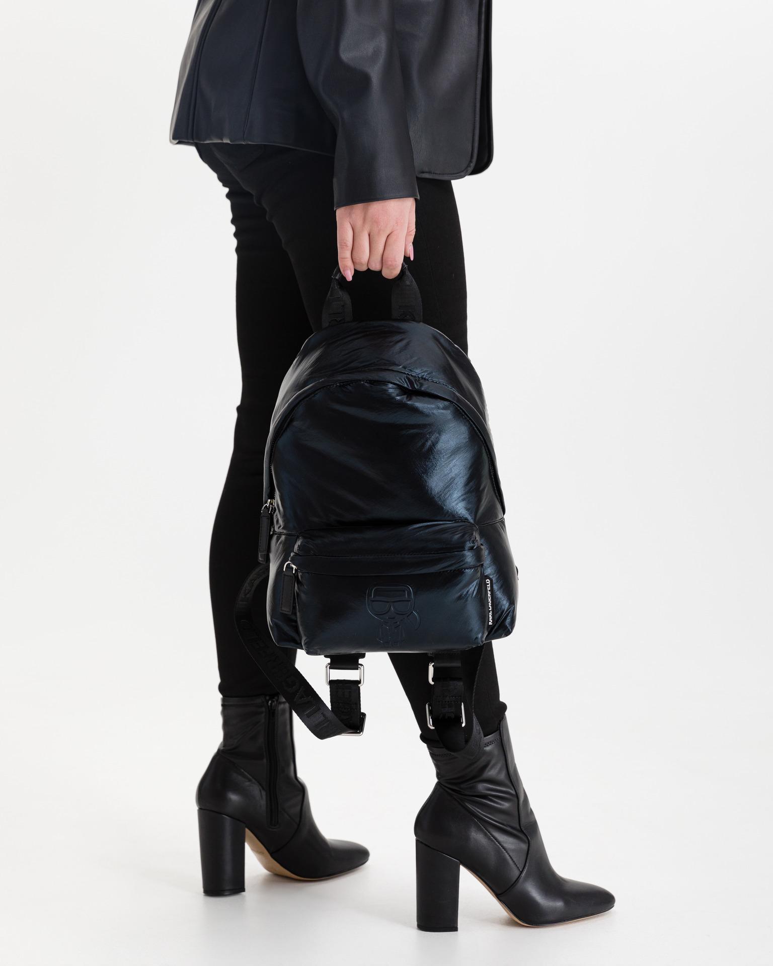 KARL LAGERFELD Plecak damski czarny Batoh