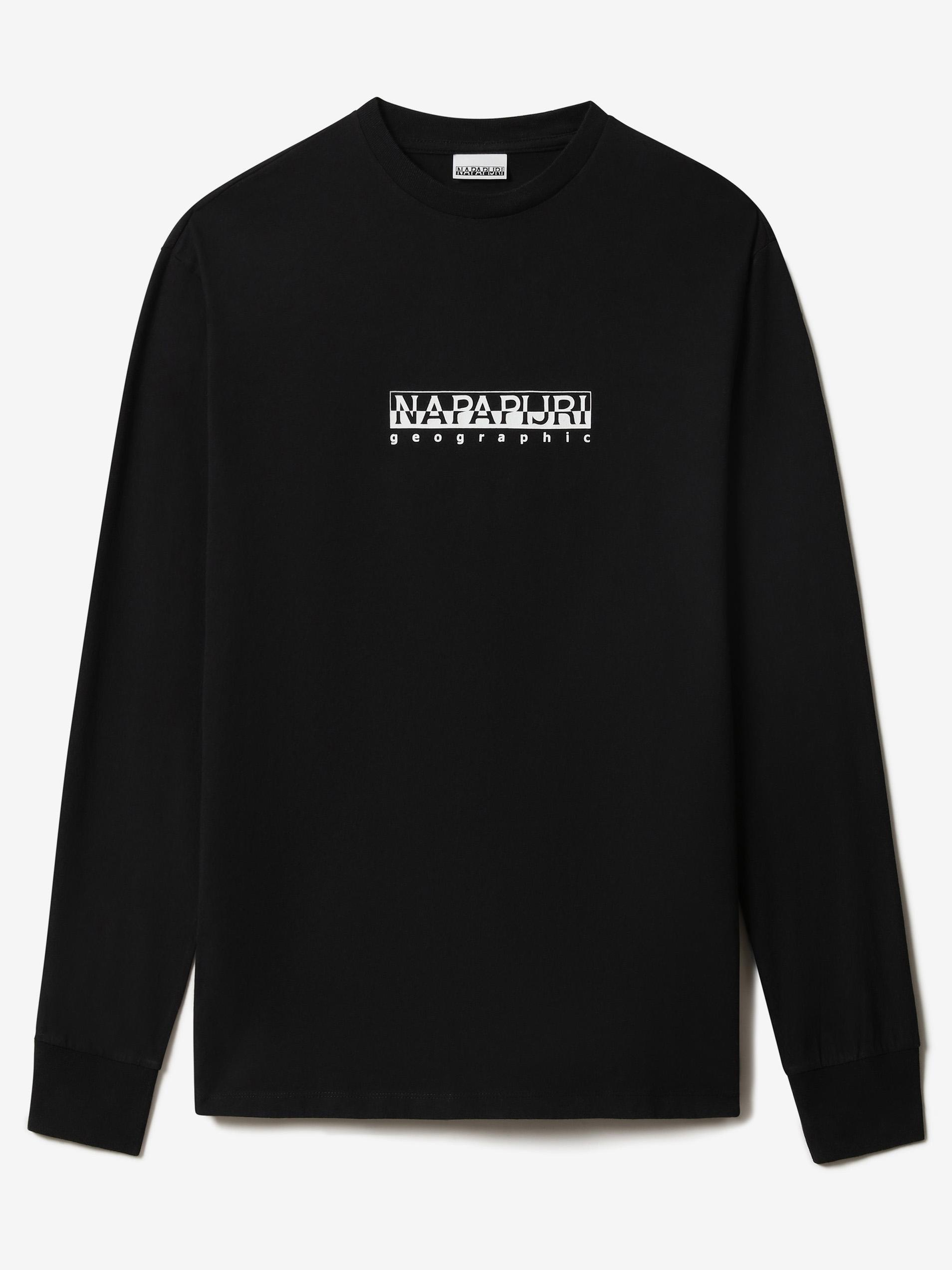 NAPAPIJRI Koszulka damska czarny  S-box