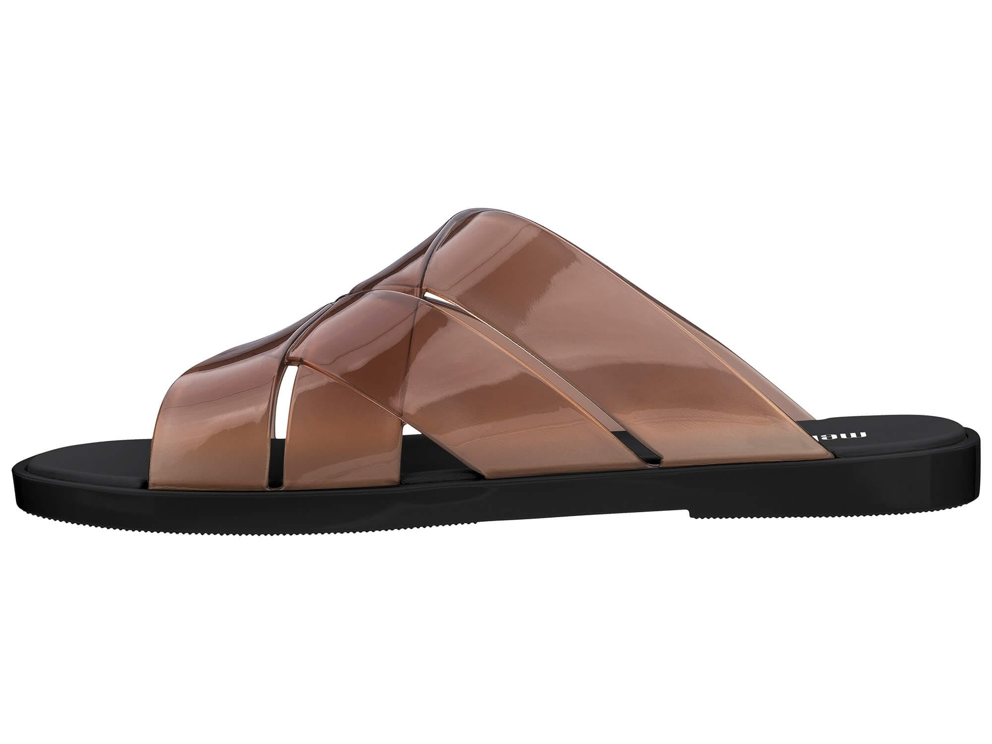 Melissa brązowe klapki Breeze Brown/Black