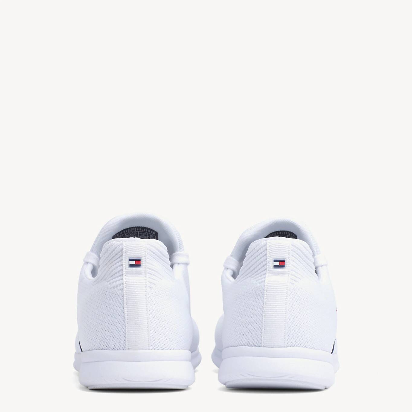 Tommy Hilfiger białe trampki Knitted Flag Light Sneaker White