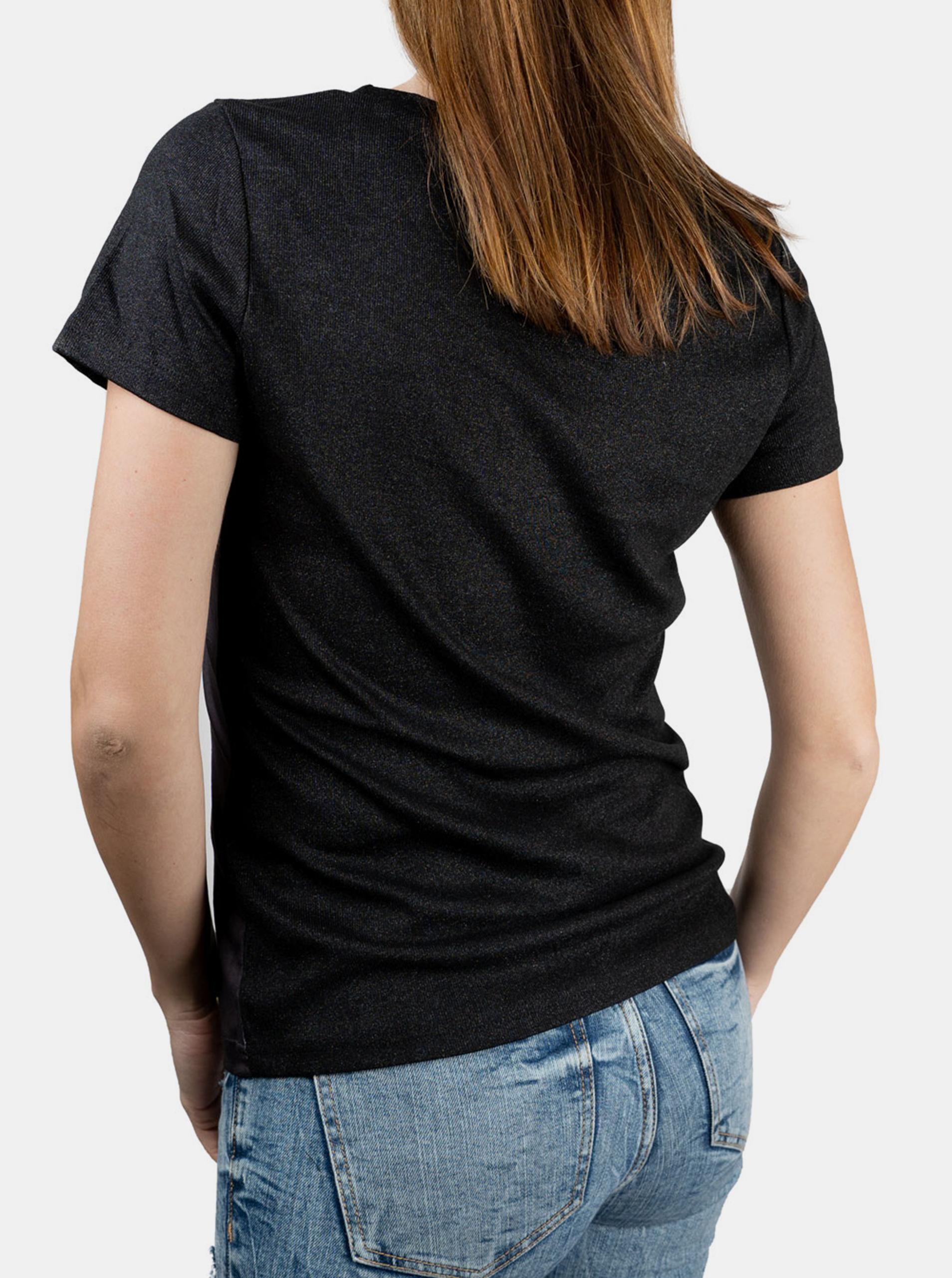 Culito from Spain czarna koszulka Laura Pausini