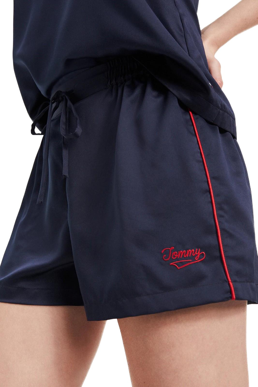 Tommy Hilfiger niebieskie piżama Short