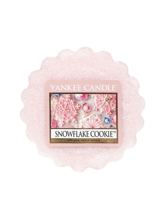 Yankee Candle wosk zapachowy do aromalampy Snowflake Cookie
