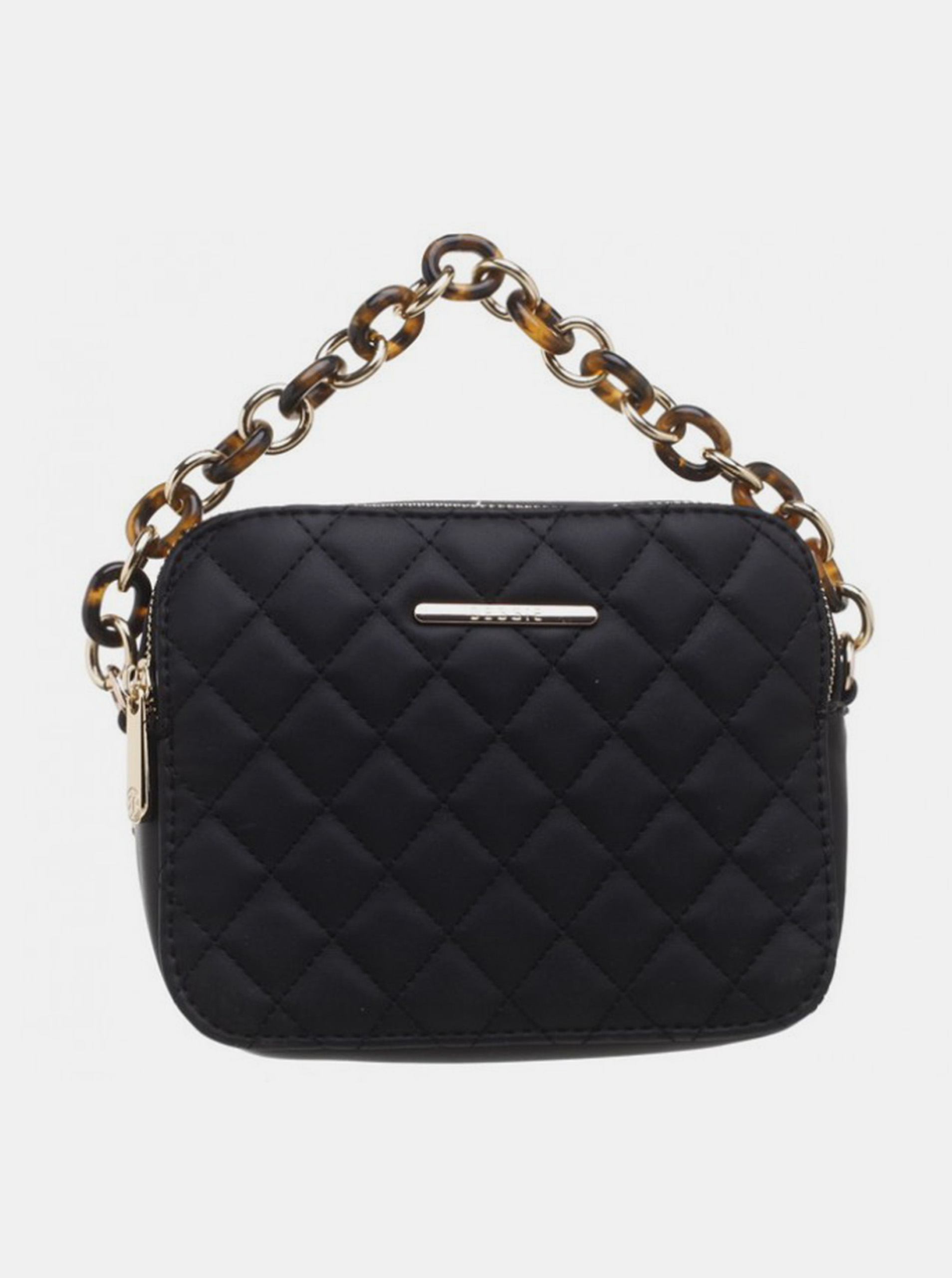 Czarna mała torebka Bessie London