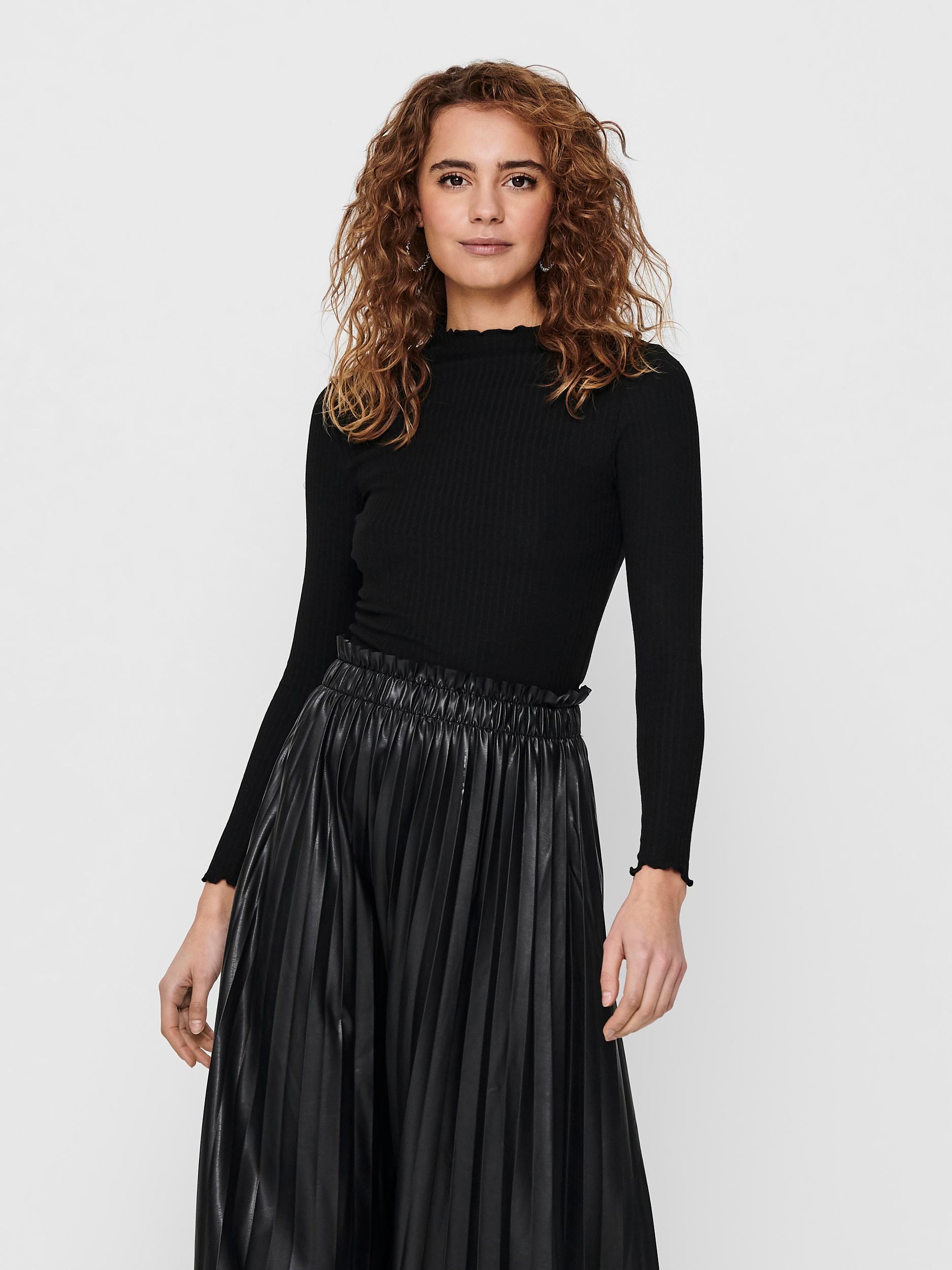 Czarna koszulka ONLY Emma