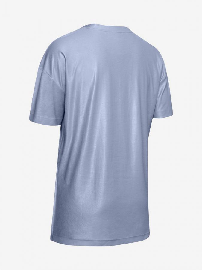 Koszulka Under Armour Unstoppable Cire Side Slit Tunic Ssc-Blu