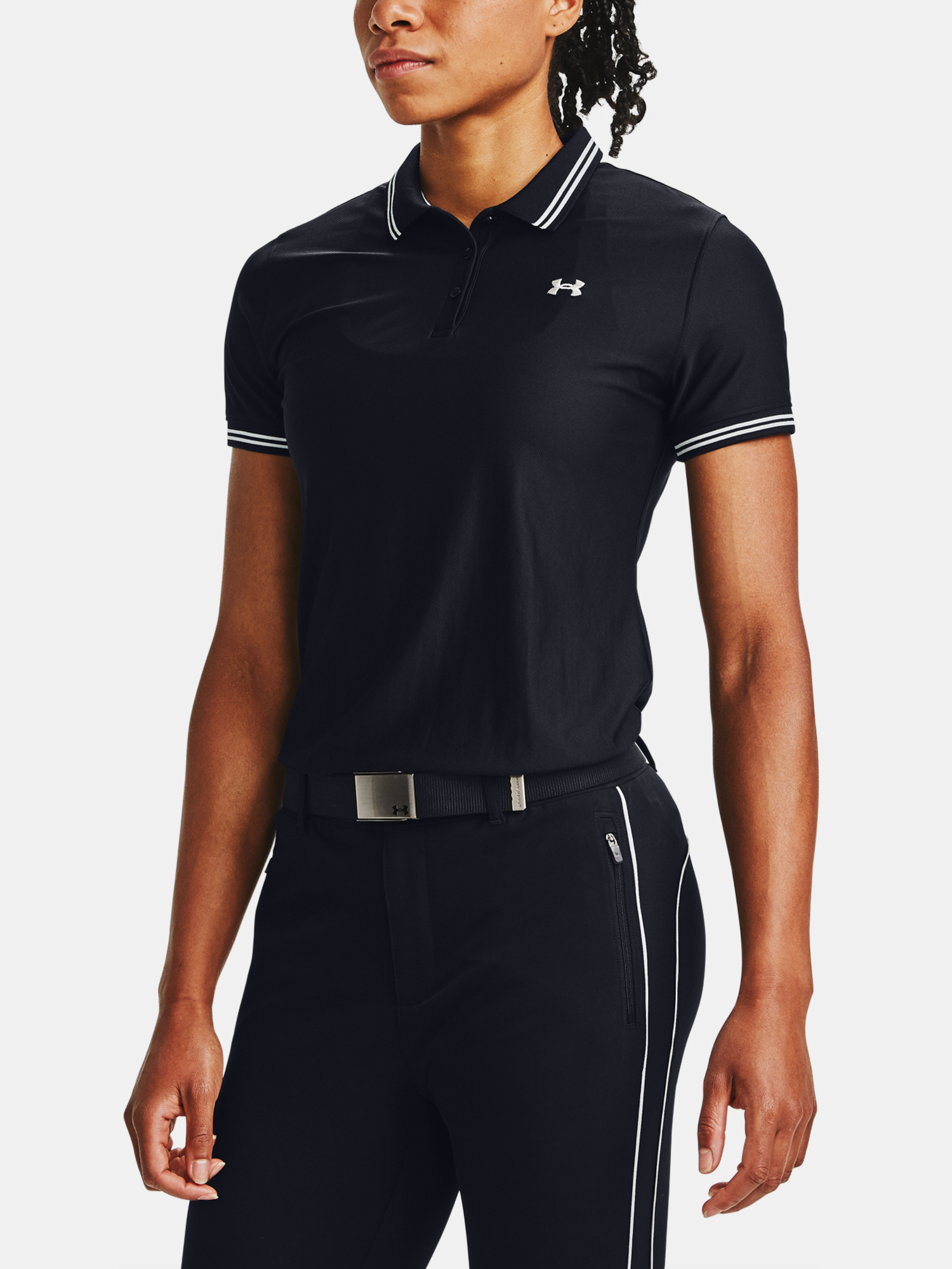 Koszulka Under Armour Zinger Pique Polo-BLK