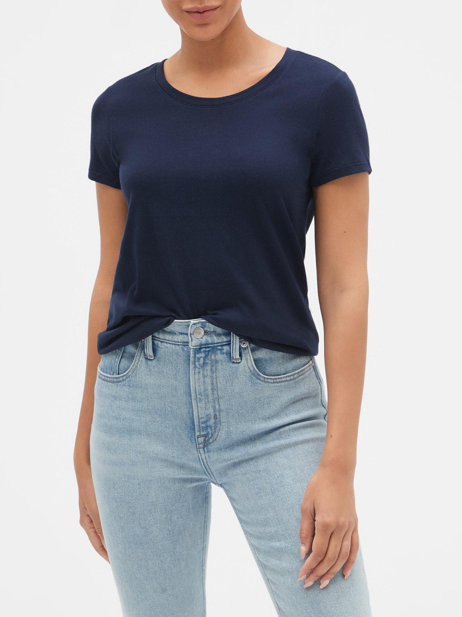 GAP niebieski koszulka