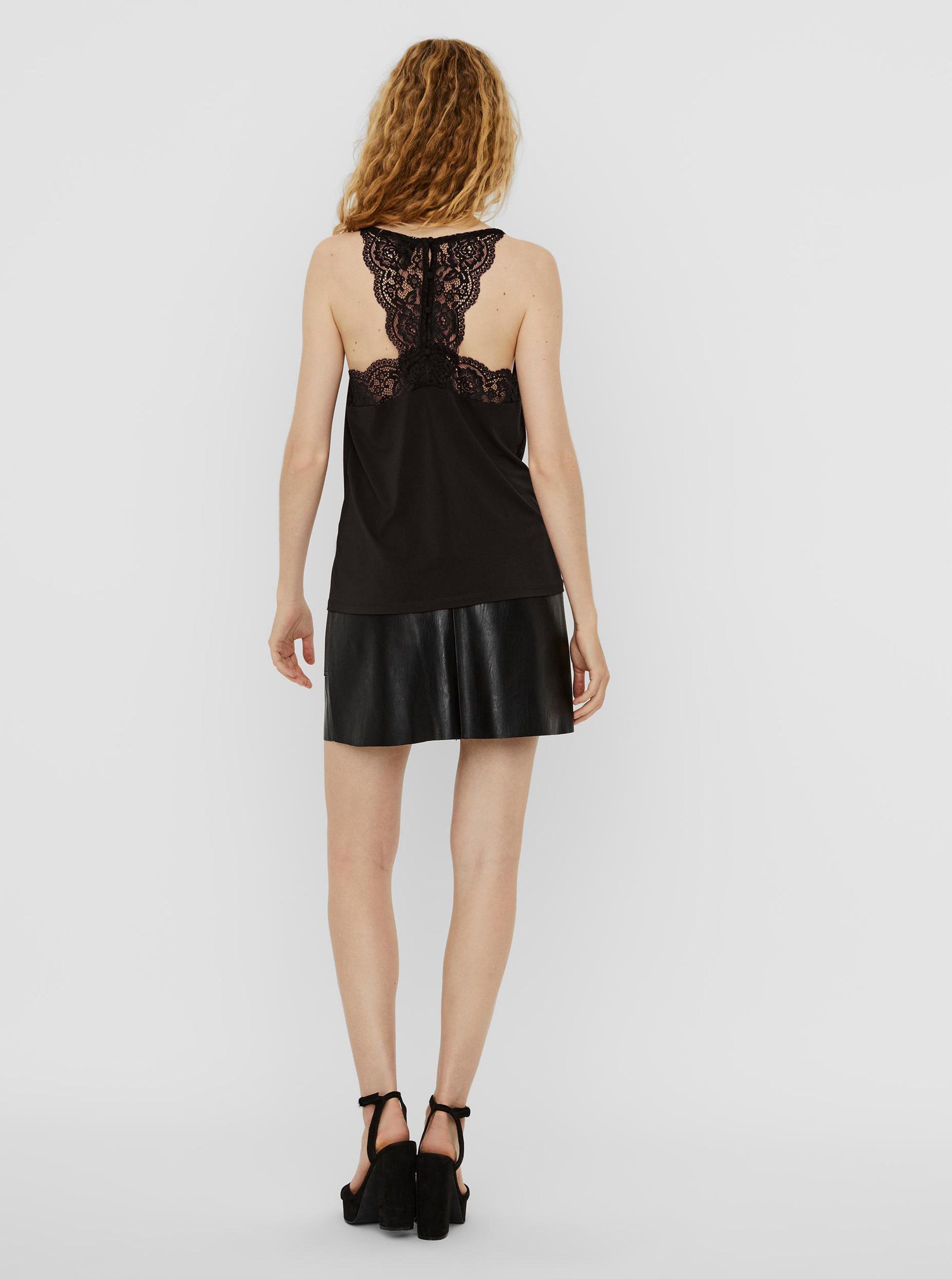 Vero Moda czarny top Ana