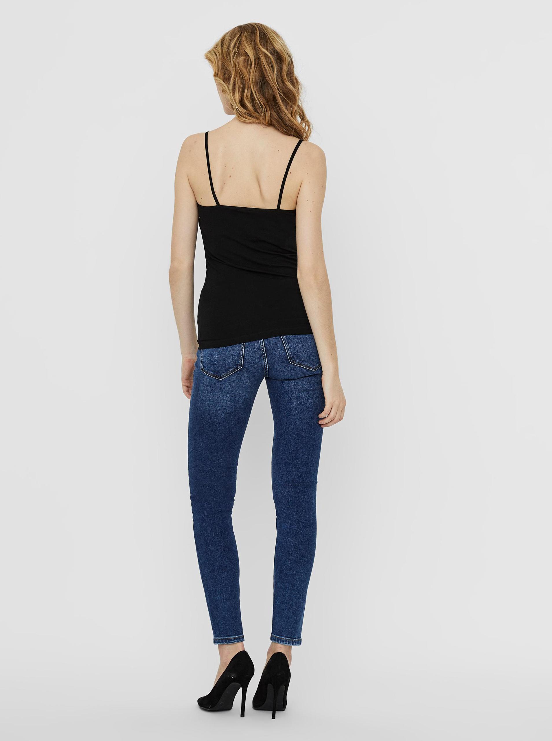Vero Moda czarny 2 pack top Inge