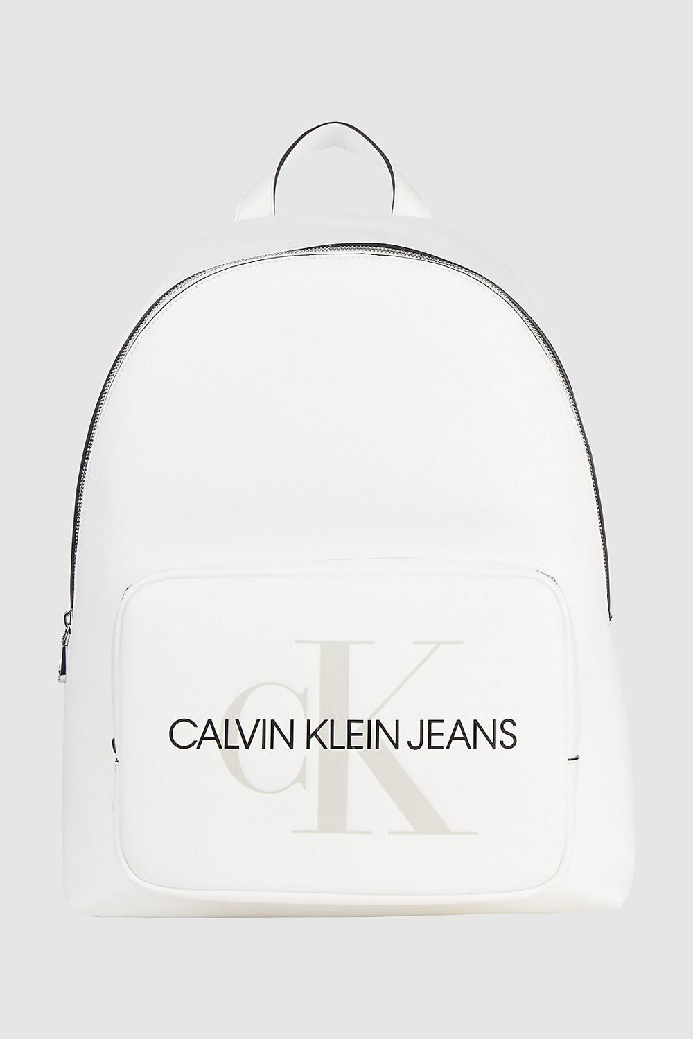 Calvin Klein biały plecak Capus BP