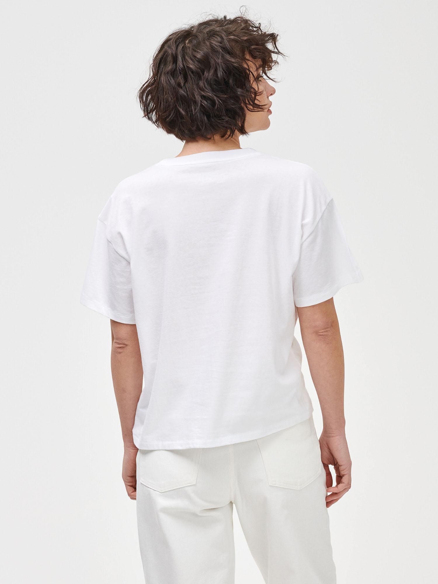 GAP biały koszulka Prague