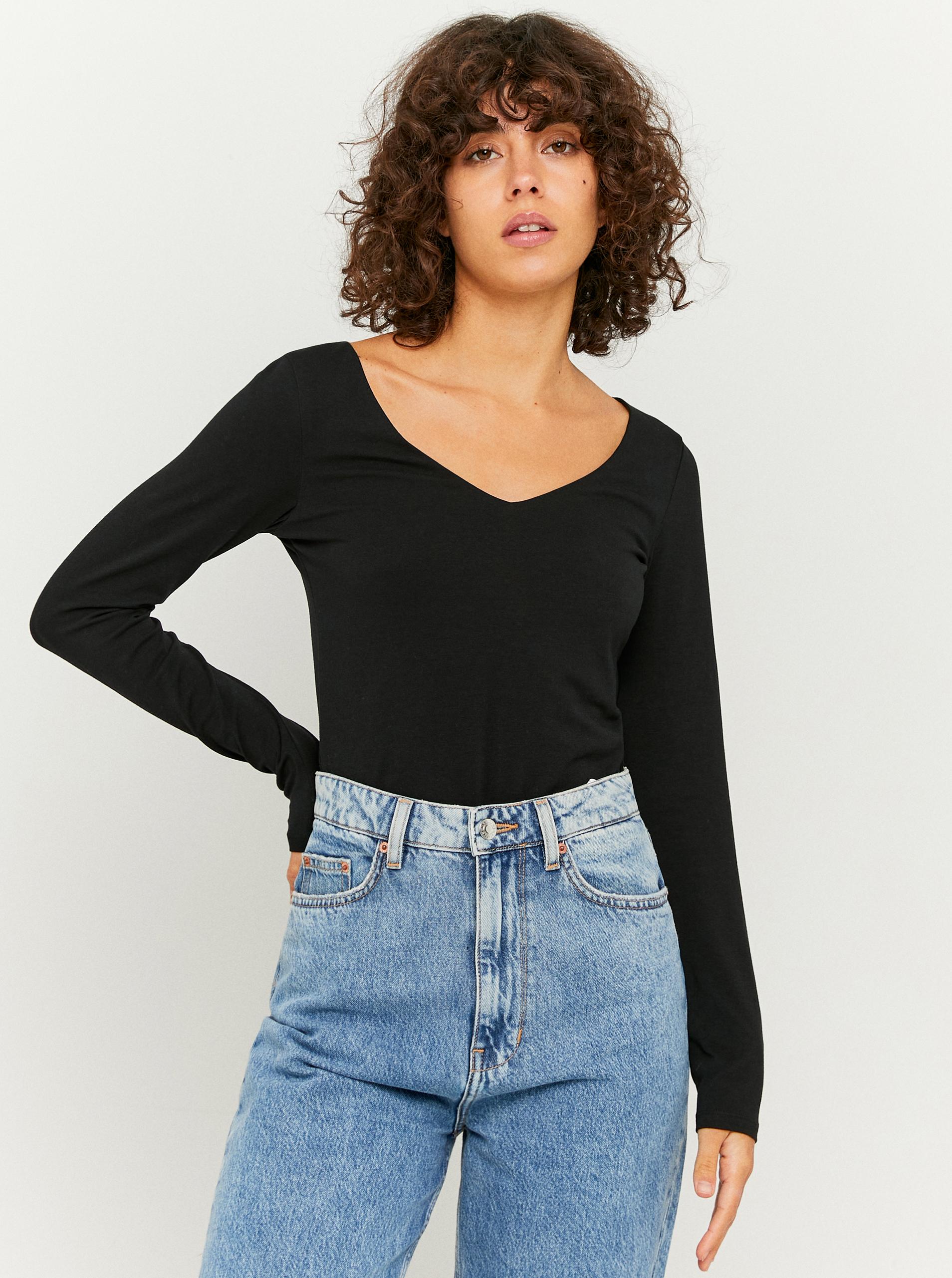 Tally Weijl czarny damska koszulka