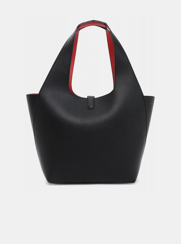 Tamaris czarny dwustronny shopper